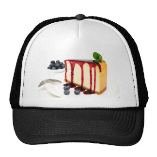 Cheesecake And Blueberries Hats