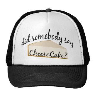 Cheesecake Hat