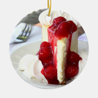 Cheesecake Ornament
