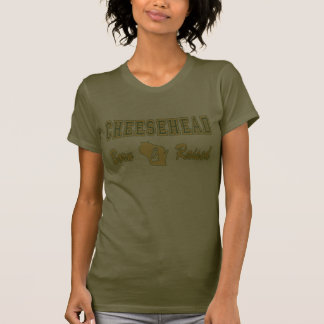 cheesehead born and raised2 t-shirts