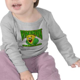 CheeseHead Cartoon 2 T-shirts