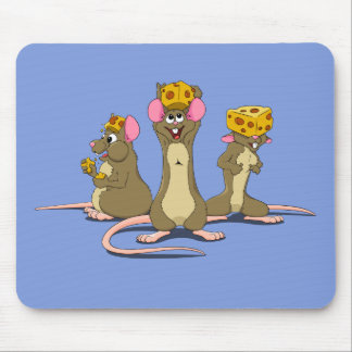 Cheesehead Mice Mouse Pad