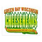 Cheeseheads Mooootercycle Club Postcard