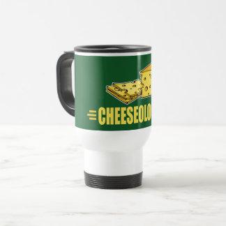 Cheeseologist Funny Cheese Lovers Travel Mug