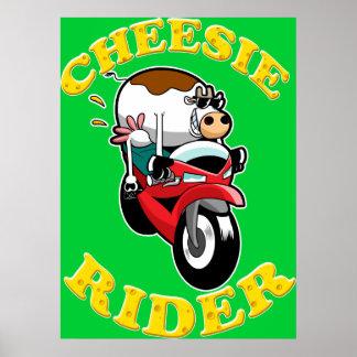 Cheesie Rider Poster