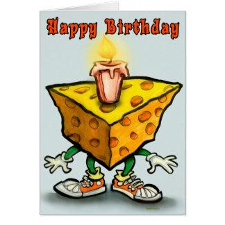 Cheesy Birthday Greeting Card