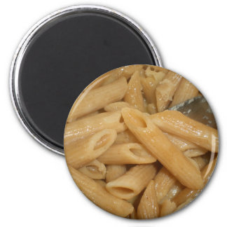 Cheesy Pasta 6 Cm Round Magnet