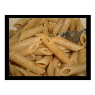 Cheesy Pasta Postcard