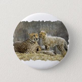 Cheetah-a-Cubs 6 Cm Round Badge