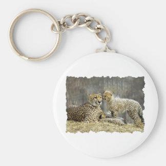Cheetah-a-Cubs Key Ring