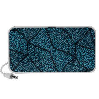Cheetah Abstract Pattern Laptop Speakers