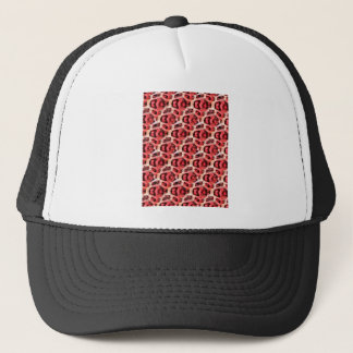 Cheetah Abstract Print Trucker Hat