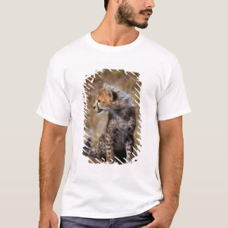 Cheetah (Acinonyx Jubatus) as seen in the Masai 2 T-Shirt