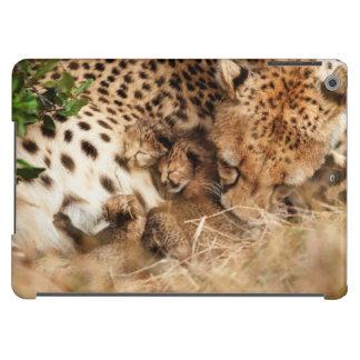 Cheetah (Acinonyx Jubatus) Grooming One-Day Old iPad Air Covers