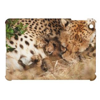 Cheetah (Acinonyx Jubatus) Grooming One-Day Old Case For The iPad Mini
