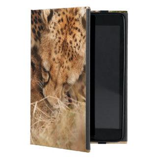 Cheetah (Acinonyx Jubatus) Grooming One-Day Old iPad Mini Cases