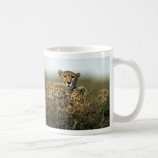 Cheetah and Cub Mugs