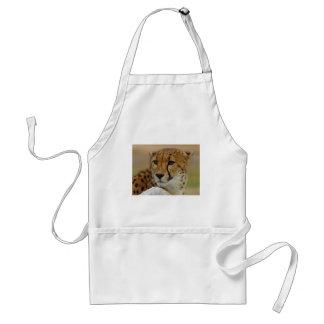 cheetah adult apron