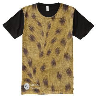 Cheetah Awareness All-Over Print T-Shirt