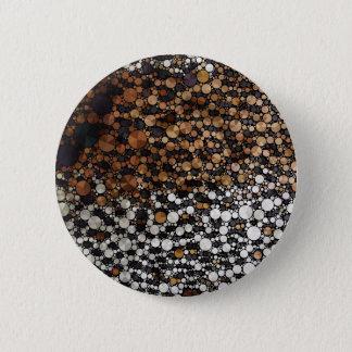 Cheetah Bling Art Decor 6 Cm Round Badge