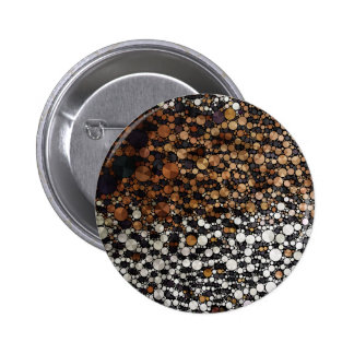Cheetah Bling Art Decor 6 Cm Round Badge