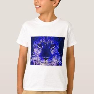 cheetah blue fractal design T-Shirt