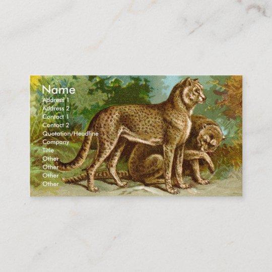 Cheetah Business Card