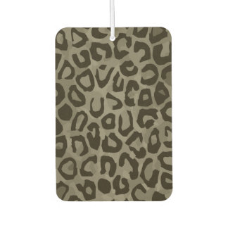 Cheetah Camouflage Car Air Freshener