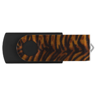 Cheetah Cat Abstract, USB Swivel Flash Drive