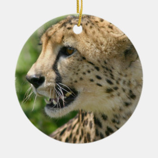Cheetah Cat Ornament