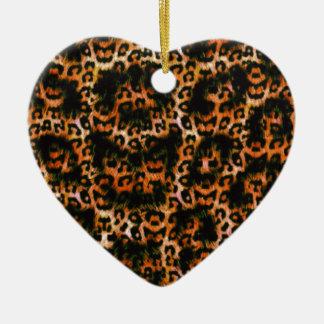 Cheetah Cheetah Pop Art design Christmas Ornament