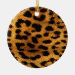 Cheetah Christmas Ornaments