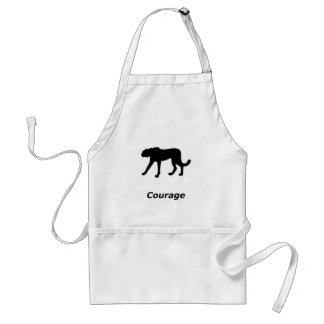Cheetah Courage Standard Apron