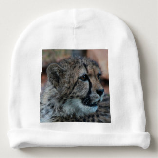 Cheetah cub - Cotton Rib Infant Hat Baby Beanie