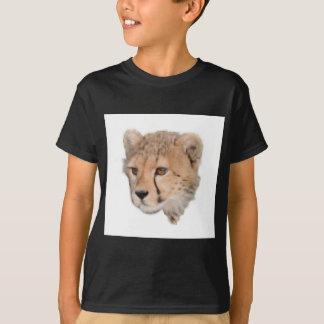 Cheetah Cub Headshot TWurl T-Shirt