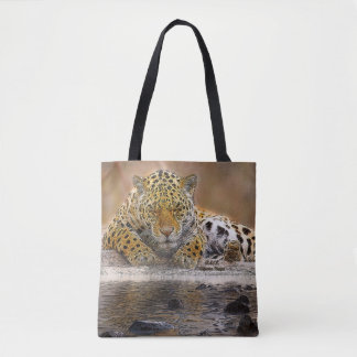 Cheetah Custom All-Over-Print Tote Bag