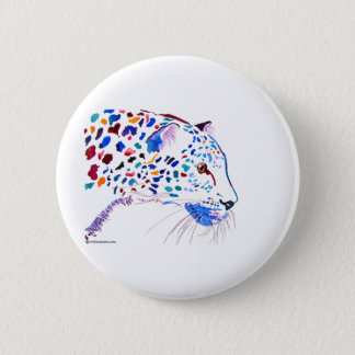 Cheetah Design 2 6 Cm Round Badge
