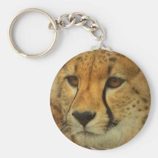 Cheetah Face Keychain