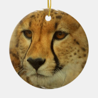 Cheetah Face Ornament