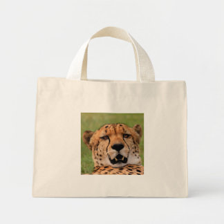 Cheetah Face Tiny Tote
