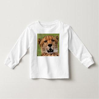 Cheetah Face-Toddler Long Sleeve T-Shirt