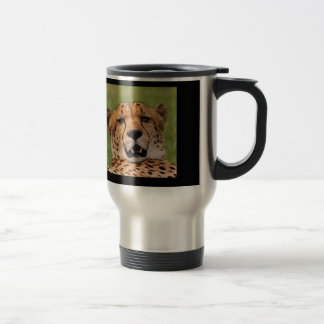 Cheetah Face Travel/Commuter Mug - 444 ml