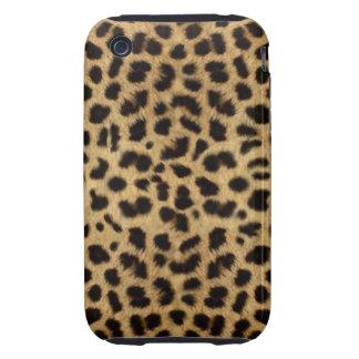 Cheetah Faux Fur Pattern Print Tough iPhone 3 Cases