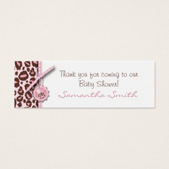 Cheetah Girl Skinny Gift Card Pink B