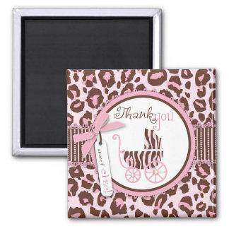 Cheetah Girl TY Magnet Pink 2