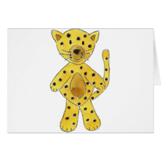 Cheetah Greeting Card