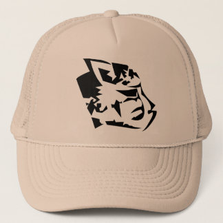 Cheetah Head Trucker Hat