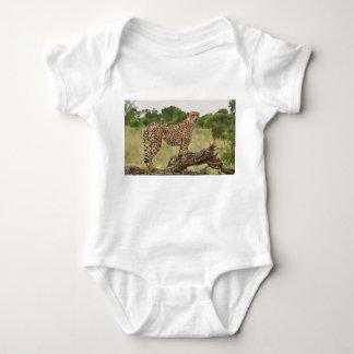 Cheetah in Africa Baby Bodysuit