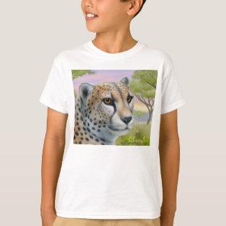 Cheetah in Africa Kids T-Shirt