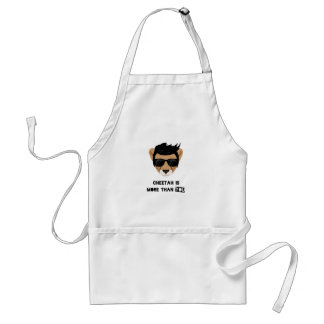 CHEETAH IS MORE THAN YOU STANDARD APRON